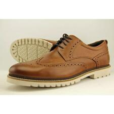 Rockport Marshall Men US 12 W Brown Wingtip Oxford Blemish  10366