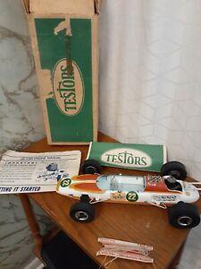 Vintage Cox Testors Gas Powered Indy Lotus Tribute Tether Race Car #22 Sprite