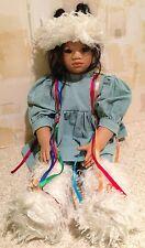 """Annette Himstedt 25""""  KIMA Limited Edition Puppen Kinder Artist Doll 1993 VGC"""