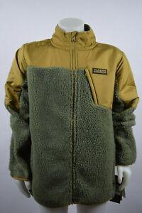 NWT! Boys Youth Under Armour Storm Tanuk Sherpa Jacket sz L-XL Oatmeal Fleece