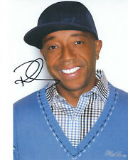 RUSSELL SIMMONS AUTOGRAPHED PHOTO SIGNED 8X10 #1 MUSIC PRODUCER PHAT FARM