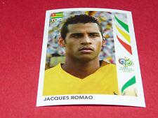 524 JACQUES ROMAO TOGO PANINI FOOTBALL GERMANY 2006 WM FIFA WORLD