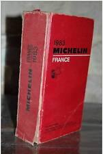 GUIDE MICHELIN France 1983(13R14)