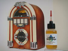 Liquid Bearings, BEST 100%-synthetic oil for Seeburg jukeboxes, READ THIS!!