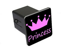 Princess - Tow Trailer Hitch Cover Plug Insert Truck Pickup RV