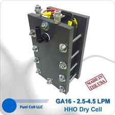 HHO Dry Cell 16 Plate 4N - Slim Line HYDROGEN GENERATOR GA16 - FREE SHIPPING