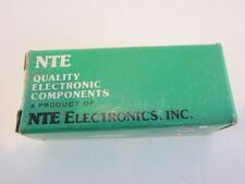 Vintage Radio Electronic Nte Lot 12 pc asst Components Nos Boxed Parts Tubes