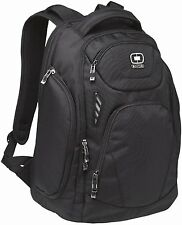 "OGIO Mercur Pack Black 17"" Laptop / MacBook Pro Backpack for School or Work -New"