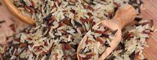 Wild Rice Gourmet Blend (Black, Brown, & Red) GMO free Premium Quality 12oz