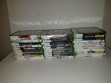 Lot of 33 Xbox 360  Empty Clean Cases Artwork Some Original Manuals NO GAMES!