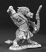 1 x BLACKTONGUE GNOLL - DARK HEAVEN LEGENDS REAPER miniature jdr rpg 03190