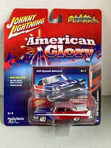 Johnny Lightning'58 Plymouth Belvedere American Glory