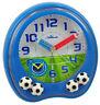 Atlanta Calcio Sveglia per Bambino Blu Silenzioso 1719/5 Quarzo Analogica