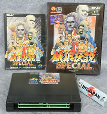 FATAL FURY SPECIAL Ref/2115 NEO GEO AES SNK neogeo FREE SHIPPING