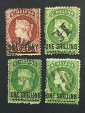 MOMEN: ST HELENA SG # P12.5 CROWN CC USED £90 LOT #5147