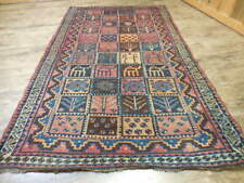 1930Vgdy Antique Kazak Qashqai Yalameh Viss Serapi Heriz 5.2x9.3 Estate Sale Rug