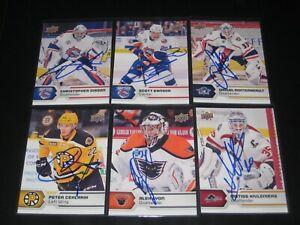 PETER CEHLARIK autographed '17/18 Upper Deck AHL card #40 BOSTON BRUINS