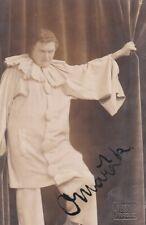 OTAKAR MARAK opera tenor signed photo as Canio in I Pagliacci