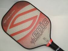 ALL NEW SELKIRK AMPED X5 LIGHTWEIGHT EPIC PICKLEBALL PADDLE FIBER FLEX RUBY RED