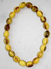 Trade Beads Antique 'Faux' Amber Resin Beads Red