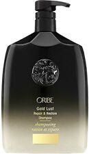 ORIBE Gold Lust Shampoo 33.8oz/ 1 Liter, Pro  Size/ FREE PUMP/NFR