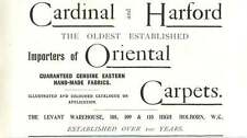 1901 Cardinal And Harford Carpet Importers Levant Warehouse Ad
