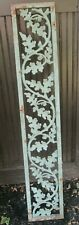 1 Antique Cast Iron Railing Architectural Salvage Garden Oak Leaves Acorns 57""