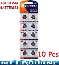 10x AG13 LR44 A76 L1154 RW82 357 SR44 1.5V Alkaline Coin Cells Button Battery #5
