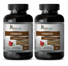 Antioxidant complex - CRANBERRY CONCENTRATE 50:1 immune support system 2 Bottles