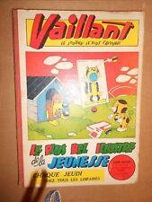 Reliure Vaillant 13 (733 à 745) + Lot 7 Vaillant du 132 au 237  ( 1947 à 1949 )