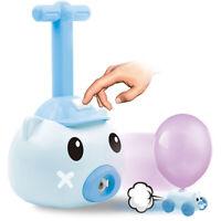 Balloon Powered Car with Balloon Pump Aerodynamic Car Stem Toy Kids Fun Gift