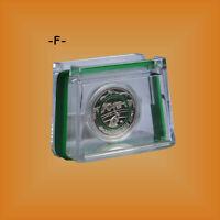 5 EURO Polymerring Sammlermünze Klimazonen -Gemäßigte Zone- BRD 2019 -PP- Mzz. F