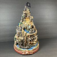 Pirates Of The Caribbean Curse Of The Black Pearl Island Tabletop Sculpture
