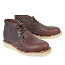 AUTHENTIC RED WING CLASSIC CHUKKA BRIAR LEATHER BOOT 3141