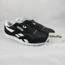 Escuela de posgrado Viaje Más lejano  Zapatillas deportivas de hombre negras Reebok Reebok Classic Nylon   Compra  online en eBay