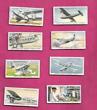 RARE 1936 PLAYERS CIGARETTES INTERNATIONAL AIR LINERS COMPL SET (INV# C0422 )