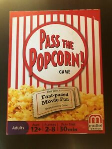 Pass the Popcorn Fast-paced Movie Guessing Game with RETRO BOOSTER PACK