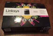 Cisco Linksys N600 Wi-Fi Router Model # E2500  Dual Band 300+300 W/ Box And Cd