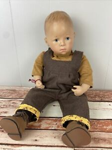 "Vincent Boy Baby Doll by Götz #298 Made In Germany 21.5"" 2001"