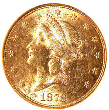 1878-S $20 MS61 NGC -LIBERTY HEAD-TRENDS $6000