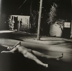 Helmut Newton, 1997, American Playmate IV, Los Angeles, Matted PHOTOLITHO