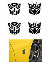 TRANSFORMERS DECALS 1/64 scale fits AFX Tyco Lifelike Autoworld