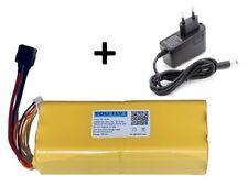 batteria Li-Ion 4S 10500 mAh 14,4V + caricabatteria droni aerei barche RC eBike