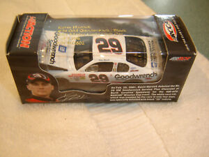 #29 Kevin Harvick Rookie 2001 Goodwrench BLACK 1/64 Action RCCA H/O Diecast