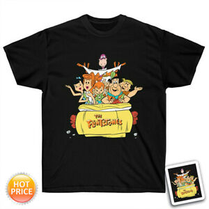 The Flintstones Cast T-Shirt Funny Movie Unisex Gildan Tee For Men Woman