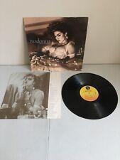 "Madonna - Like a Virgin (Sire Records, 1-25157, R-161153, 1984, 12"" LP Vinyl)"