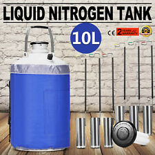 10 L Liquid Nitrogen Cryogenic Dewar Container Tank Semen Tank
