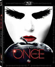 ONCE UPON A TIME - SEASON 5 -  BLU RAY - Sealed Region free