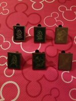 Disney 2014 Hidden Mickey Chalk Sketches Pins Complete Set of 6