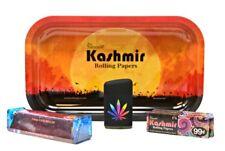 Bundle-7 Items -Kashmir 1 1/4 Supreme,Torch Lighter,110 Roller and Rolling+Tray3
